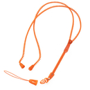 Blank High Transfer Lanyards with Two Attachments, 3/5 inch W*36inch L