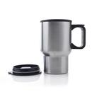 Custom 16 Oz./450 Ml. Double Wall Stainless Steel Travel Mugs, 6-1/2