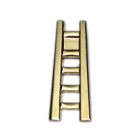"Cast Stock Ladder Jewelry Pins, Up to 7/8"", Price/Piece"