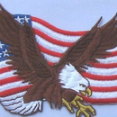 Embroidered Personalized National Emblem for States, 1.6""
