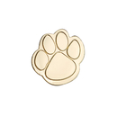 Gold Paw Lapel Stock Pins, 25PCS/Pack, 1""
