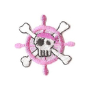 Promotional Embroidered Human Skeleton Appliques, 1.2