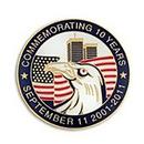September 11 Pin, Metal Material