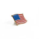 Stock American Flag Pin, Up to 1.25""