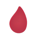 Blood Drop Stock Design Plastic Pin, 25PCS/Pack