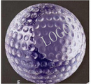 Custom Etched Golf Ball Paperweight - Long Leadtime, 3