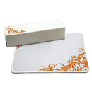 Custom Rectangle Lightweight Mouse Pad with Matching Paper Box, 9 1/2