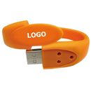 Custom Ultrathin Silicone Wristband USB Flash Drive