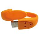 Blank Ultrathin Silicone Wristband USB Flash Drive