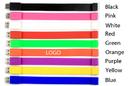 Customized 1G Silicone USB Bracelet