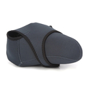 Blank Large Reversible Neoprene Stretchy Wrap Case, Black & Gray for Camera & Microfiber Cloth, S/M/L size