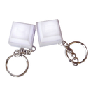 Blank Mini Computer Keyboard Button Keychain with LED Light