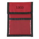 Custom 420D Nylon Neck Wallet Badge Holder, 5