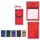 Custom Non-Woven Neck Wallet Badge Holder, 5