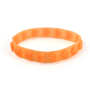 Embossed Love Heart Silicone Wristband, 8