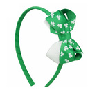 Alice St. Patrick' Day Hair Hoop, Green Theme Celebration Hair Band - Wholesale
