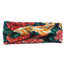 Alice Women's Headbands, Flower Printed Criss-cross Head Wrap - Wholesale