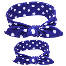 Alice 1 Set Parent-child Women Tied Hair Bands, Turban Headbands - Wholesale