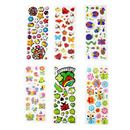 Aspire Puffy Sticker Assortment, Bugs & Flowers Garden Variety Series, Wholesale Lot
