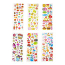 Aspire Wholesale Puffy Sticker, Mixed Dessert & Snacks Food Stickers