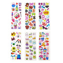 Aspire Costume Accessory Puffy Sticker Assortment, Dimensional Sticker, Girls' Gift, Wholesale Lot