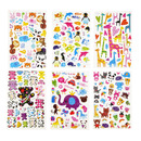 Aspire Animal Puffy Stickers Assortment, Wholesale Variety Pack, Gift For Kids