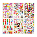 Aspire Mixed Puffy Stickers, Dimensional Sticker Assortment, Stickers For Kids