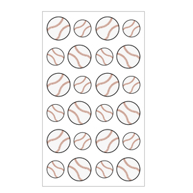 Aspire Baseball Sports Balls Stickers, Wholesale Sticker Paper