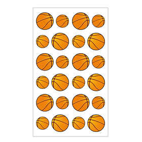 Basketball Sports Balls Stickers, Wholesale Lot