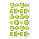Aspire Tennis Ball Sports Balls Stickers, 24 Stickers/ Sheet