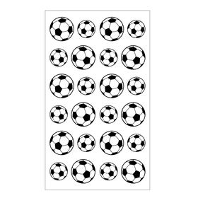 Aspire Soccer Sport Ball Stickers, Wholesale Funny Stickers