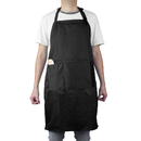 Opromo Heavyweight Unisex Adjustable Polyester/Cotton Bib Apron with Three Pockets, 25