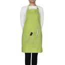 Opromo 6-Pack Cotton Canvas Adjustable Chef Kitchen Aprons
