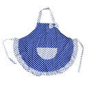 Opromo Women's Cotton Aprons with Pocket, 23 1/4