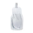 (Price/50 PCS) Aspire Clear Spouted Stand up Juice Pouches, 8.5 Fluid Ounces, FDA Compliant