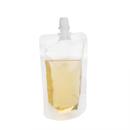 50 PCS 3.25 OZ Spouted Liquid Stand up Pouches, Juice Pouches, 4mil, 8.2mm Spout, FDA Compliant