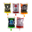 (Price/20 PCS) Aspire 8 OZ Spouted Blood Bags for Juice, Vampire Drink Container for Halloween Party, 8.6mm Spout
