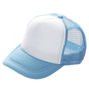 (Price/12 PCS) Opromo Kids Two Tone Mesh Curved Bill Trucker Cap, Adjustable Snapback, 14 Colors