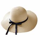 Opromo Foldable Women Floppy Sun Beach Straw Hats Wide Brim Packable Summer Cap