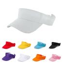 Opromo Solid Plain Unisex Sport Sun Visor Hat Adjustable Velcro Cap,13 colors
