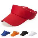 Opromo Plain Men Women Sports Tennis Golf Sun Visor Hats Adjustable Velcro