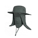 Opromo UV protection Sun Cap Dolida Flap Hat Removable Neck & Face Flap Cover Cap