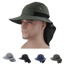 Opromo Extreme Condition Hat Sun Protection Wide Brim Summer Hat with Neck Flap