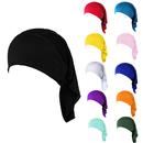 Opromo Womens Under Scarf Cap Turban Bonnet Hijab Islamic Head Cover Muslim Hat