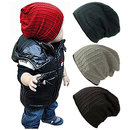 Opromo Baby Boy's Hat Cool Knit Beanie Hats Toddlers Soft Cotton Warm Winter Cap