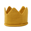 Opromo Baby Boys Girls Crown Hat Birthday Warm Soft Knit Crochet Beanie Warm Cap
