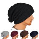 Opromo Unisex Slouchy Winter Hat Long Oversized Beanie Knit Cap Warm Ski Hat