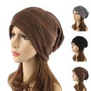 Opromo Womens Mens Slouch Hollow Beanie Thin Summer Cap Soft Cotton Skullcap Hat