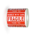 "Officeship 2"" x 3"" Shipping Labels, 500pcs/Roll - Fragile/Handle with Care/Thank You"