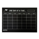 Aspire Removable Month/Week/Day Planner Chalkboard Decal, Wall Sticker, 23